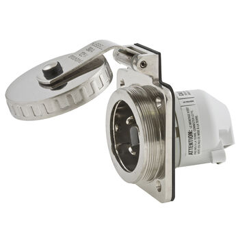 Hubbell Boatside Traditional SS Shore Power Inlet