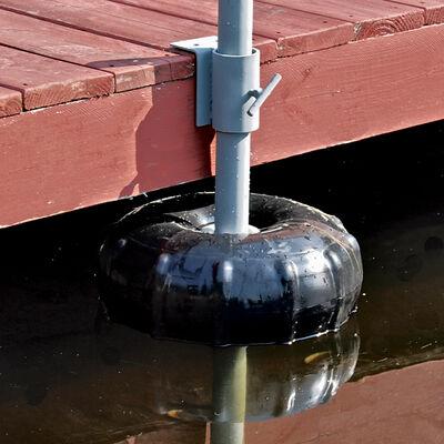 "Dock Post Wheel Black 14"""