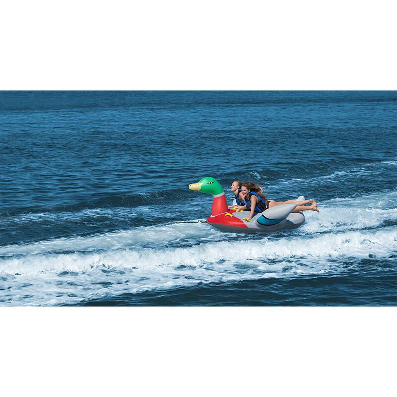 Solstice Mallard Duck 2-person Towable tube image number 3