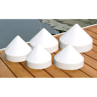 """Dockmate Conehead Cap for Round Pilings, 12"""" Dia."""