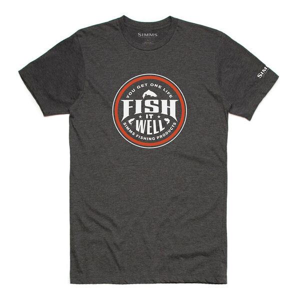 Simms Men's Fish It Well Short-Sleeve Tee