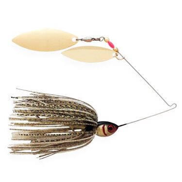 Booyah Double Willow Blade Spinnerbait, 3/8-oz.