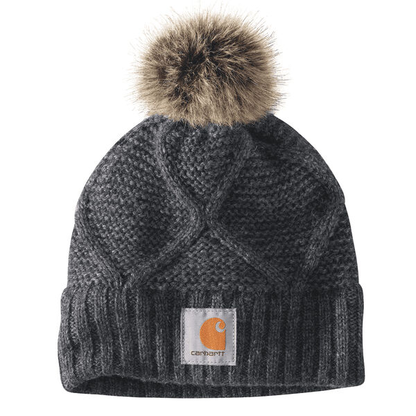 Carhartt Women's Cable Knit Pom Hat