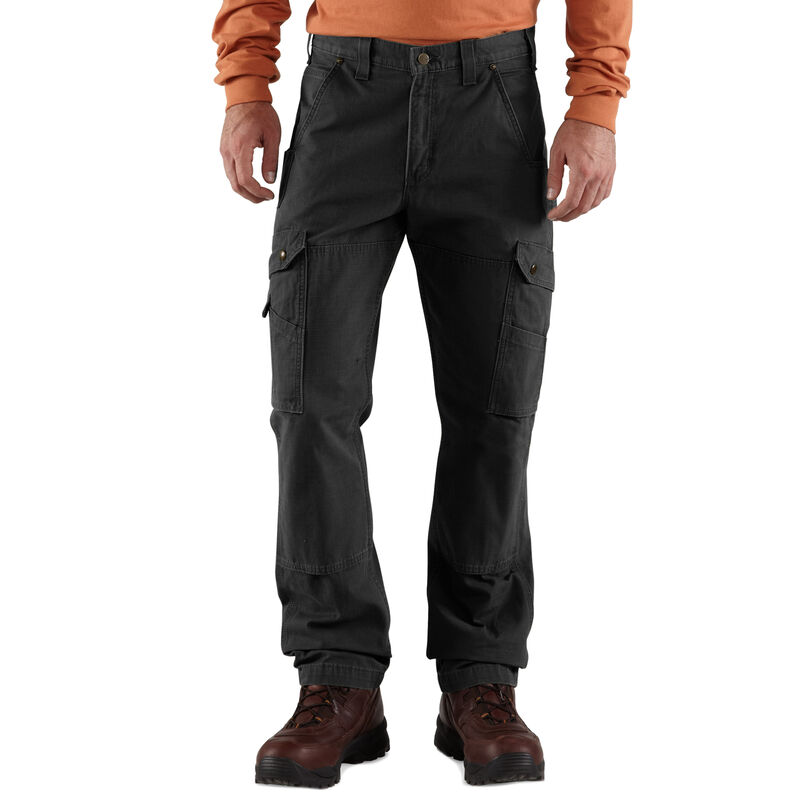 Carhartt Men's Relaxed Fit Double-Front Cargo Work Pant image number 1