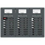 Blue Sea AC Main/DC Main Toggle Circuit Breaker Panel, Model 8184