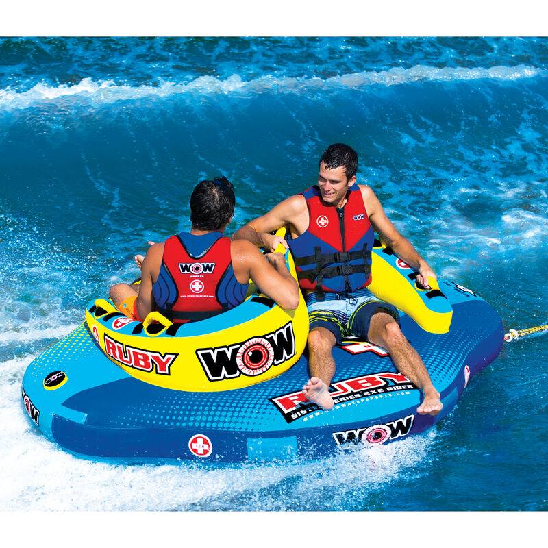 WOW Sister Ruby 2-Person Towable Tube image number 7
