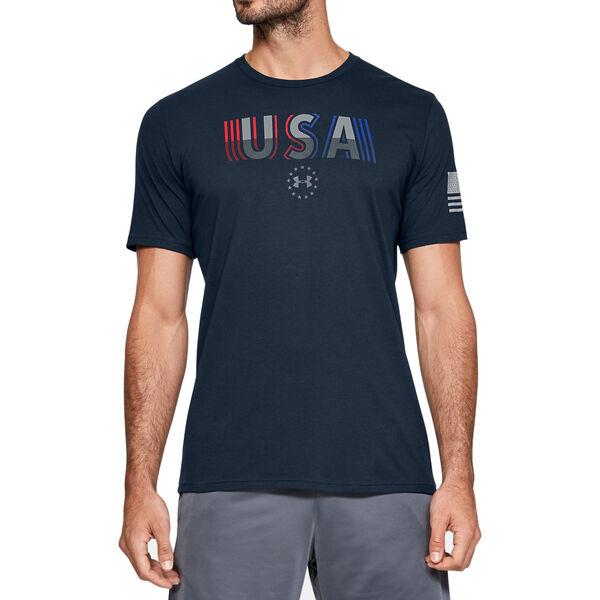 Under Armour Men's Freedom USA Undefeated Short-Sleeve Tee