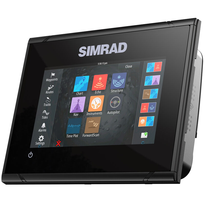 Simrad GO5 XSE Fishfinder Chartplotter With TotalScan Transducer And Insight USA image number 3