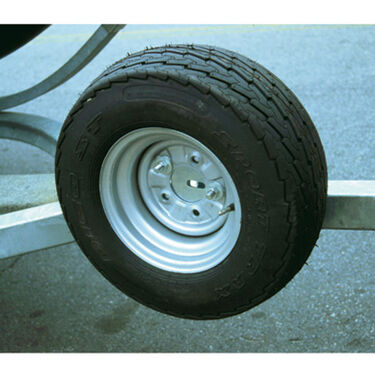 Side-Mount Spare Trailer Tire Carrier