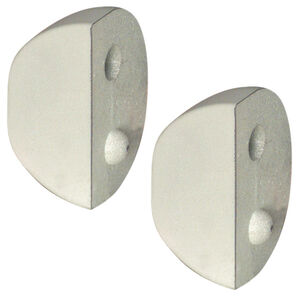 "Dockmate Small ""D"" Profile Dock Cushion End Caps, pair"