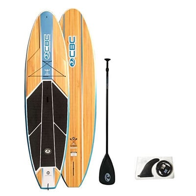 California Board Company 10'6 Typhoon ABS Stand-Up Paddleboard With Paddle And Leash Included