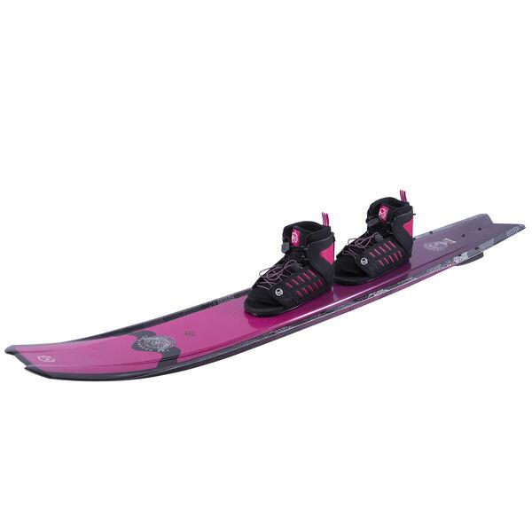 HO Women's Hovercraft Slalom Waterski With Double Freemax Bindings