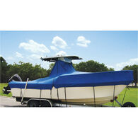Taylor Made Covers For Boats With Fixed T-Tops and Bow Rails