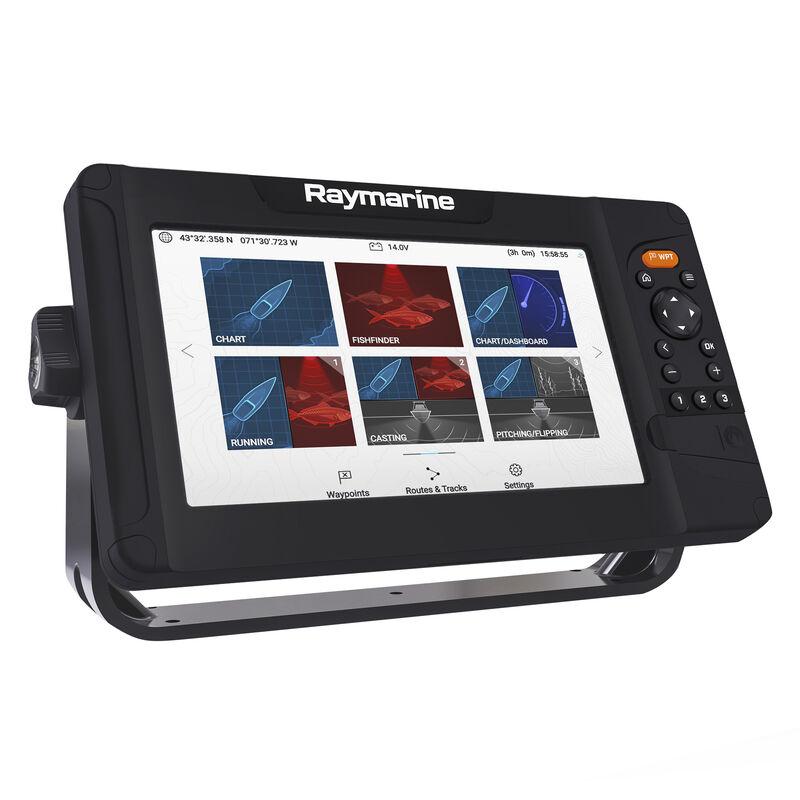 Raymarine Element 9 HV GPS Fishfinder w/Navionics Nav+ US & Canada Charts, no transducer image number 1