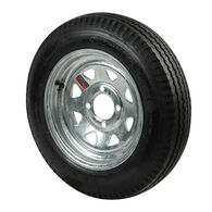 Kenda Loadstar 5.30 x 12 Bias Trailer Tire w/4-Lug Galvanized Spoke Rim