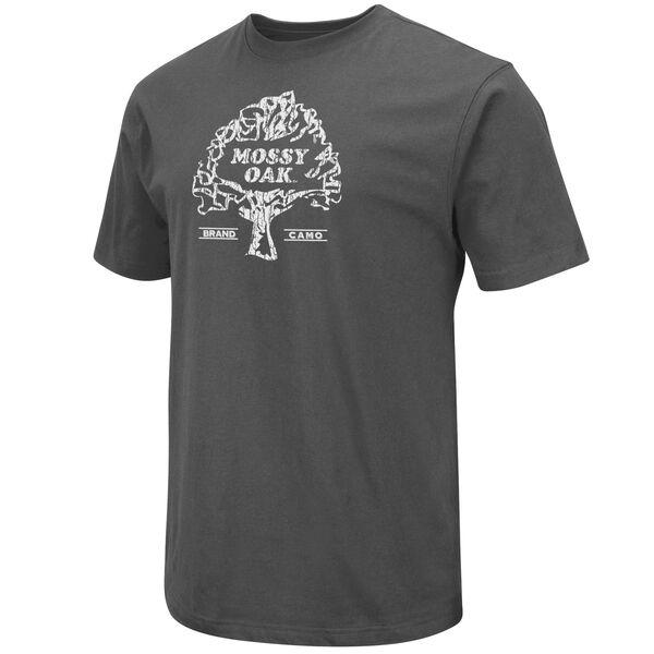 Mossy Oak Men's Vintage Logo Short-Sleeve Tee