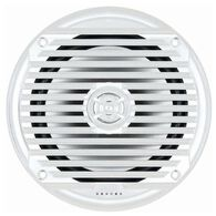 "6.5"" Coaxial Waterproof Marine Speakers, White"