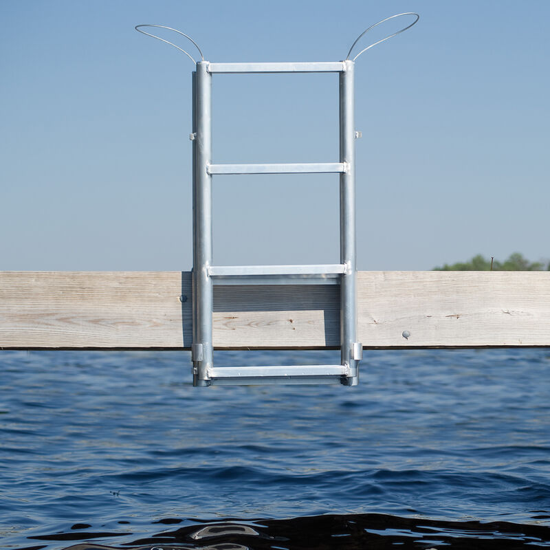 International Dock Finger Pier Lifting Ladder, 4-Step image number 3