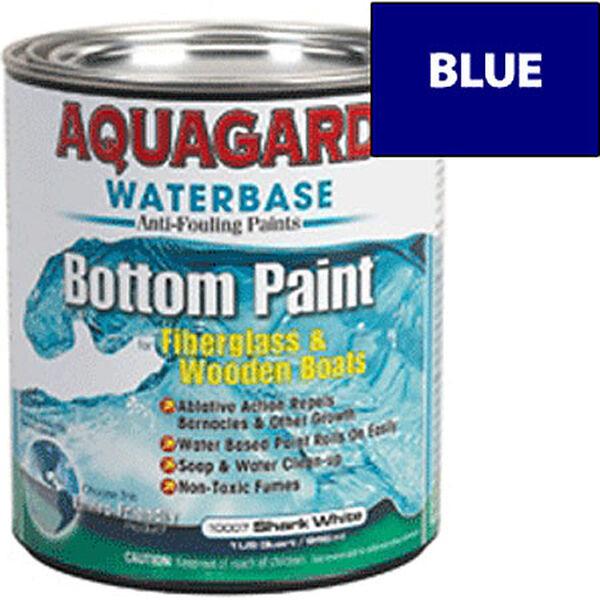 Aquaguard Waterbase Anti-Fouling Bottom Paint, Quart, Blue