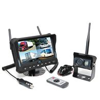 RVS Quad View Wireless Backup Camera System