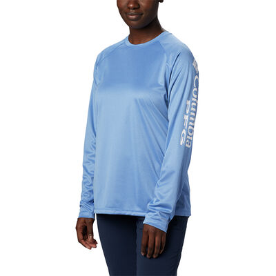 Columbia Women's PFG Tidal Tee Heather Long-Sleeve Shirt