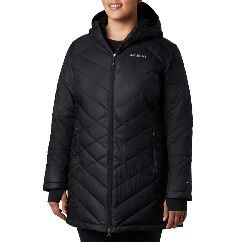 Columbia Women's Heavenly Long Hooded Jacket image number 7