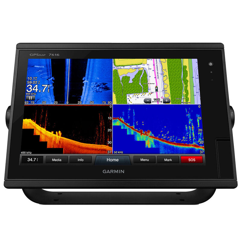 """Garmin GPSMAP 7616 16"""" Touchscreen Chartplotter With J1939 Port image number 1"""