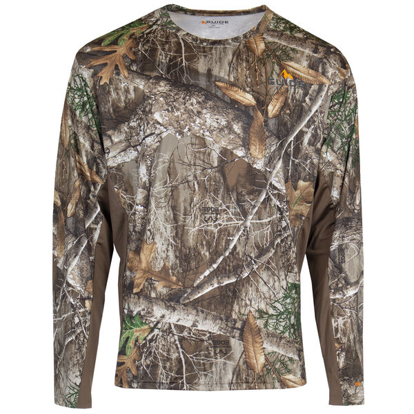 Guide Series Men's Performance Long-Sleeve Tee – Realtree Edge Camo