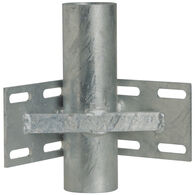 "Commercial-Grade 1/4"" Floating Dock Hardware - Inside Corner/3"" Pipe Holder"