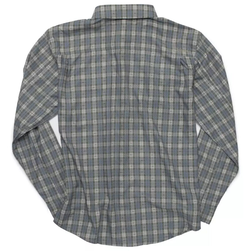 HUK Tide Point Fish Plaid Long Sleeve image number 2
