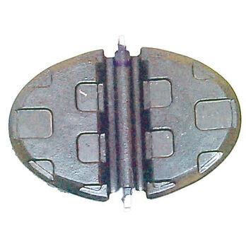 Sierra Exhaust Water Shutter For Mercury Marine Engine, Sierra Part #18-2727