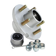"Tie Down GalvX Super Lube 5-Stud 1"" Hub Kit"