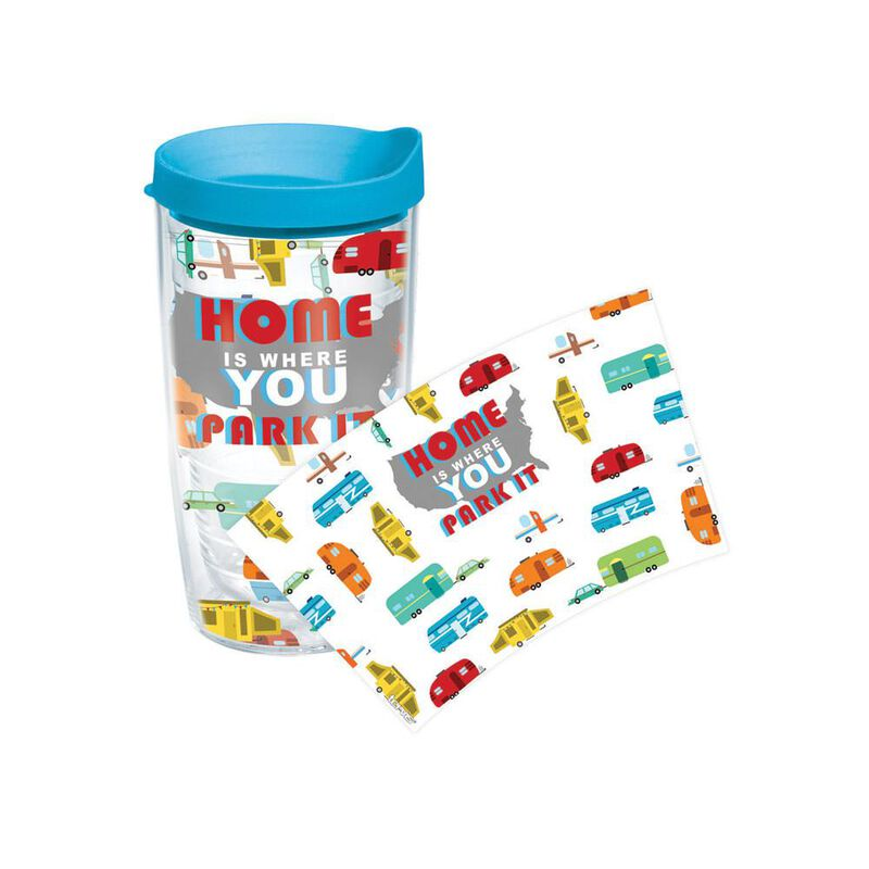 Home is Where You Park It Tumbler, 16 oz. image number 1
