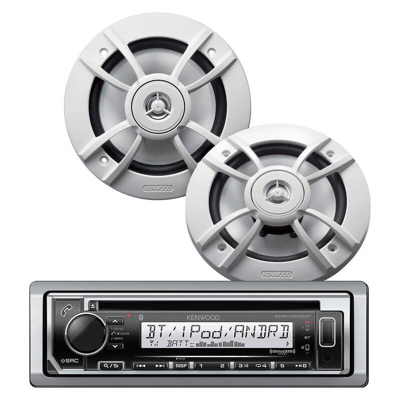 Kenwood Marine CD Receiver and Speakers image number 1