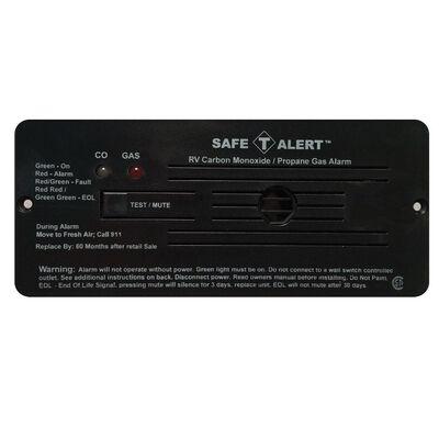 35 Series Dual LP & Carbon Monoxide Alarm, Black