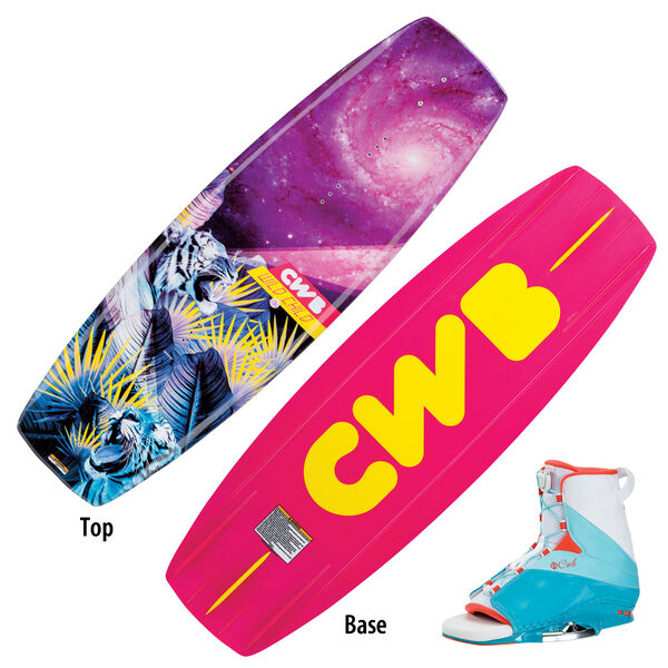 CWB Wild Child Wakeboard With Karma Bindings