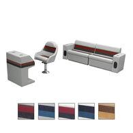 Toonmate Deluxe Pontoon Furniture w/Toe Kick Base - Rear Basic Package