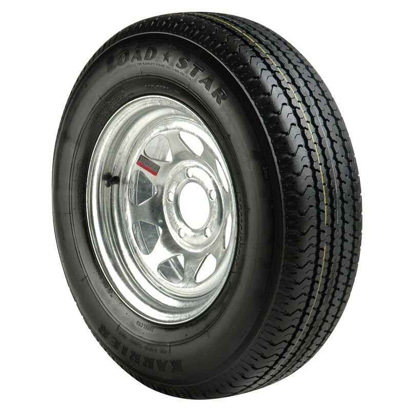 ST205/75R x 14C Radial Trailer Tire image number 1