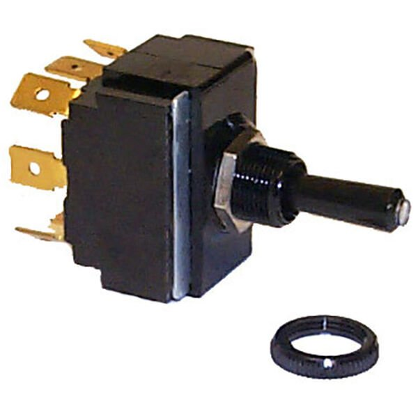 Sierra Toggle Switch On/Off/On DPDT, Sierra Part #TG19520