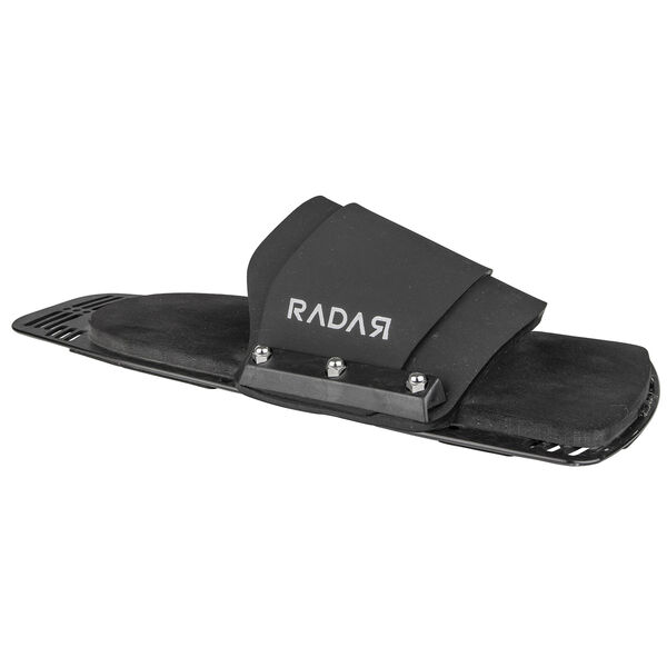 Radar Rubber Fitted Aluminum Rear Toe Plate