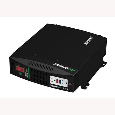 Xantrex™ Freedom 458 Inverter/Charger, 12 V/120 V/2000W/100A single in/one output