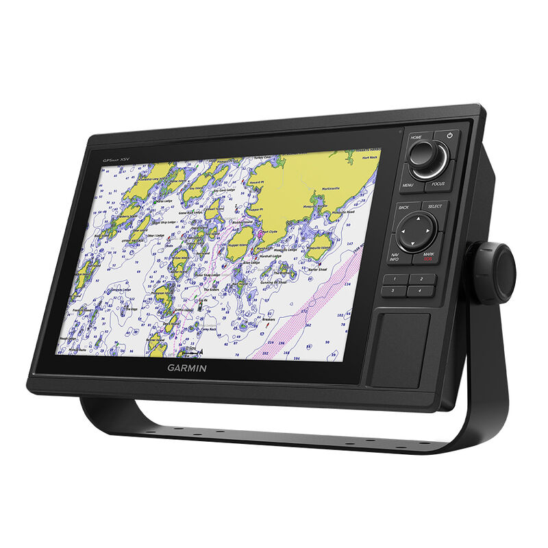 Garmin GPSMAP 1242XSV Keyed Networking Combo With GT52HW-TM Transducer image number 1