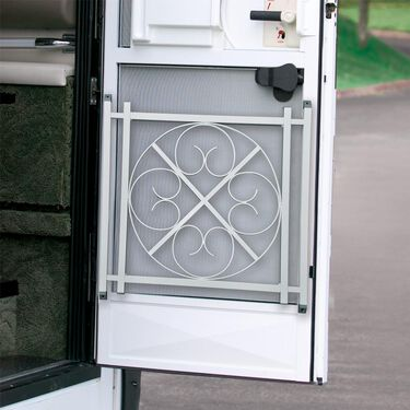 Screen Door Grille, Silver