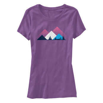 Points North Women's Peaks Short-Sleeve Tee