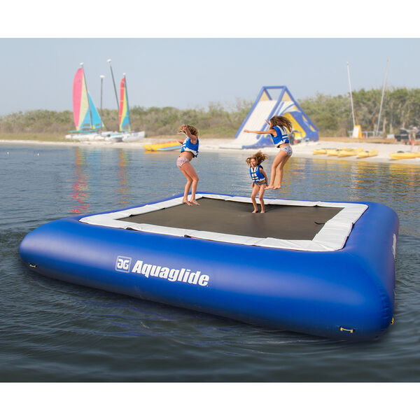 Aquaglide 27' Supertramp Trampoline