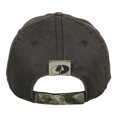 Mossy Oak County Logo Two-Tone Camo Cap