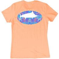 Guy Harvey Women's Marlin Paradise Short-Sleeve Tee