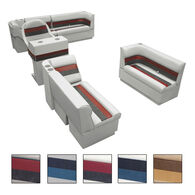 Toonmate Deluxe Pontoon Furniture w/Toe Kick Base, Complete Boat Package A Plus Stand