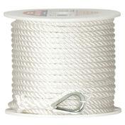 "Twisted Nylon Anchor Line, 3/8"" x 100'"