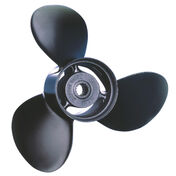 Michigan Wheel 3-Blade Propeller Pressed Rubber Hub / Aluminum